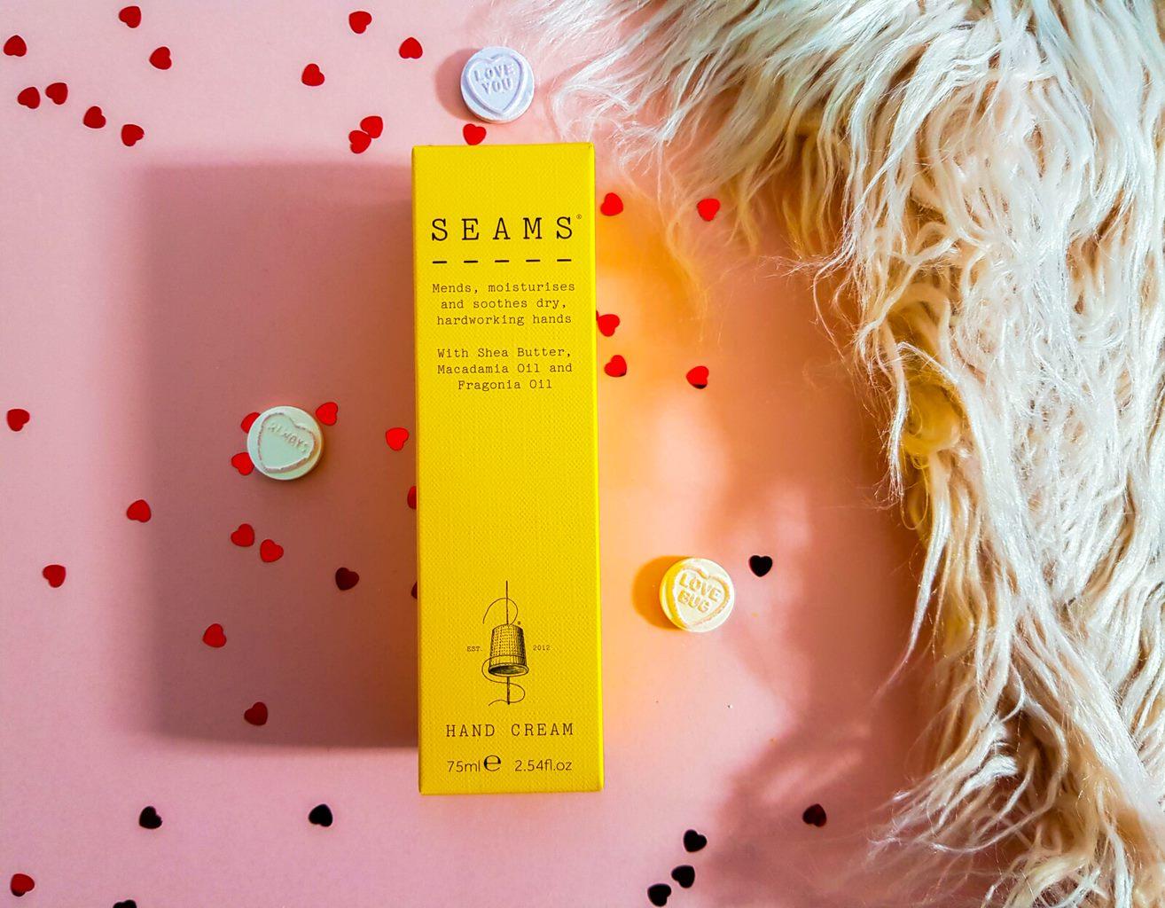 box of seams hand cream